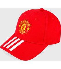 gorra rojo-amarillo-blanco adidas performance manchester united