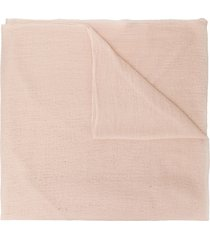 allude frayed scarf - neutrals