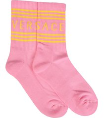 versace socks with logo