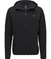wind jacket outerwear sport jackets svart calvin klein performance