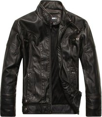 men antique black biker leather jacket, biker leather jacket men