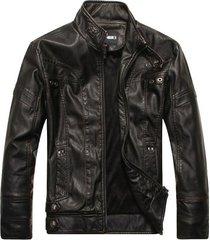 men antique black biker leather jacket, biker leather jacket men