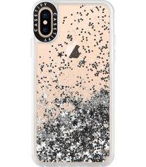casetify classic grip iphone x/xs, xs max & xr case - metallic