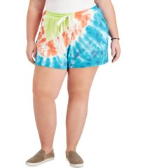 style & co tie-dye shorts, created for macy's