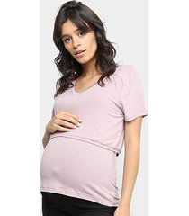 blusa amamentação liz 21063 bojo pós parto
