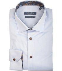 ledûb overhemd met stretch mf 0139331/120180