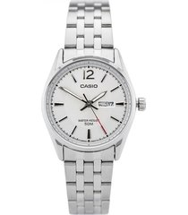 ltp-1335d-7av reloj dama doble calendario blanco