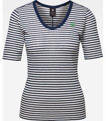 g-star t-shirt d16271-9024-8340 ecru