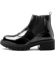 botin harper black mermaid chancleta