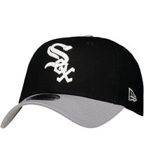 boné new era mlb chicago white sox 940 preto e cinza