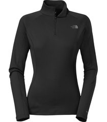 camiseta mujer warm l/s zip neck the north face