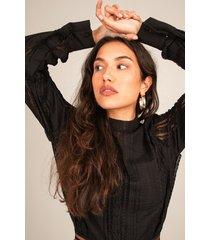 femme9 blouse zwart joan