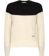 alexander mcqueen color block sweater