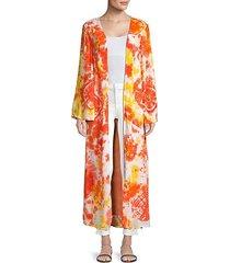 louma tie-dye long robe