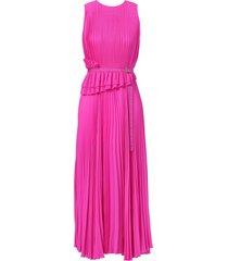 jason wu collection sleeveless pleated day dress - pink