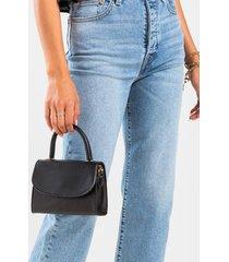 jaycee mini satchel - black