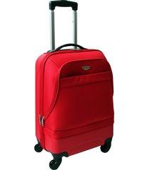 """maleta de viaje grande hibrido 28"""" roja - explora"""