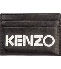 kenzo macro tag credit card holder