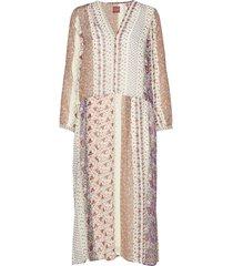 pricilla print jurk knielengte multi/patroon line of oslo