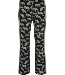 lange broek leopard