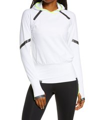 women's brooks carbonite hooded pullover