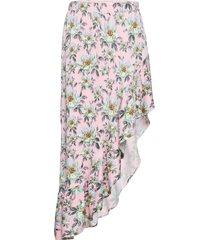 rie knälång kjol rosa custommade