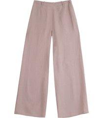linnen marlene-broek, roze 34