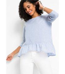 blouse met strepen