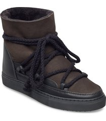 inuikii sneaker classic shoes boots ankle boots ankle boot - flat grå inuikii