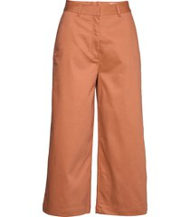 gaia trousers vida byxor orange makia