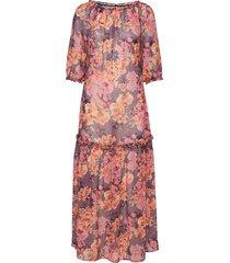 birgitte dress maxiklänning festklänning multi/mönstrad residus