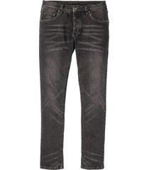 jeans elasticizzati skinny straight (nero) - rainbow