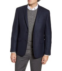 men's john w. nordstrom traditional fit houndstooth wool sport coat