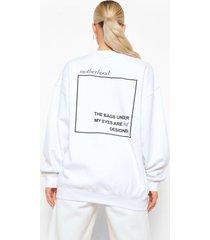 zwangerschap motherhood sweater met rugopdruk