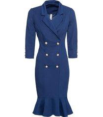 abito elegante di jersey (blu) - bodyflirt boutique