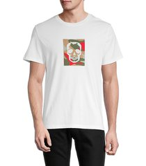 zadig & voltaire men's graphic cotton tee - judo - size s