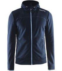 craft jas leisure full zip hood men dark navy