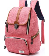 viaggio outdoor vintage di grande capacità 16 pollici laptop borsa backpack for women men