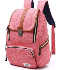 zaino borsa per laptop da donna pollici da viaggio all'aperto vintage di grande capacità per uomo donna
