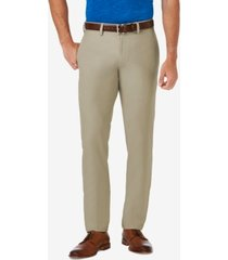 haggar men's cool 18 pro slim-fit flat front stretch dress pants