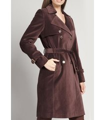 abrigo terciopelo chocolate bohemio liola