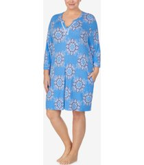 ellen tracy plus size pajama tunic, online only