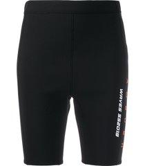 ambush waves surf swim shorts - black