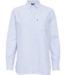 isa oxford shirt overhemd met lange mouwen blauw lexington clothing