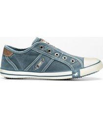 sneaker mustang (blu) - mustang