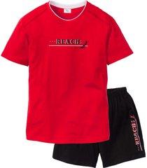 pigiama estivo (rosso) - bpc bonprix collection