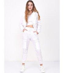 pantalón blanco 47 street beth