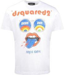 dean & dan psychedelic sunnies t-shirt