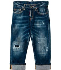 dsquared2 dsquared2 dark denim jeans kids teen