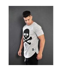camiseta masculina - skull x
